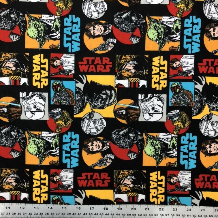 Flannel Star Wars