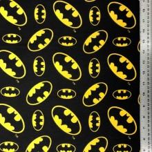 Flannel Batman Logo