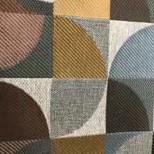 Upholstery Fabric Clockwork Chorcoal